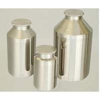 日東金属工業 洗浄が容易な 広口ネジ式ステンレスボトル 5L 1個 2-8255-02 (直送品)