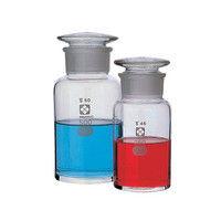 アズワン 共通摺合わせ広口試薬瓶 白色 120mL 1本 4-5031-03 (直送品)