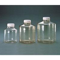 ニッコー ポリカーボネート広口大型瓶 10L 1本 4-5632-01 (直送品)
