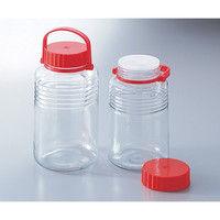アズワン 保存瓶 A型5号 4L 1本 4-5650-01 (直送品)