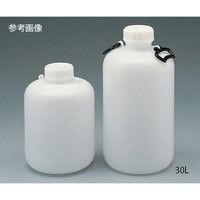 アズワン 広口瓶(HDPE製) 2L 1本 5-011-01 (直送品)