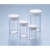 アズワン スチロールT型瓶 白 350mL 5-027-03 (直送品)