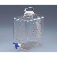 アズワン ナルゲン透明活栓付角型瓶2322 20L 5ー058ー02 1本 5ー058ー02 (直送品)