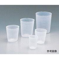 アズワン ディスポカップ 150mL V-150 1個 5-077-02 (直送品)