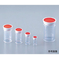 アズワン スチロール棒瓶 10mL 5-090-02 (直送品)