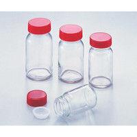 アズワン 規格瓶(広口) 透明 No.8 85.5mL 1本 5-130-05 (直送品)