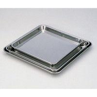 アズワン ステンレス正方皿 (310×310×25mm) 1個 5-178-02 (直送品)
