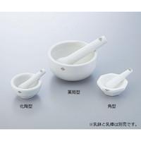 ニッカトー アルミナ角型乳鉢 120×φ91mm 1個 5-4074-02 (直送品)