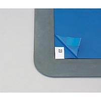 アズワン アズピュア粘着マット用フレーム ゴムタイプ 600×1200用 1枚 6-7585-13 (直送品)
