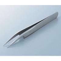 アズワン MEISTER ピンセット SA(耐酸鋼)製 クリーンパック No.5A 1本 6-7905-46 (直送品)