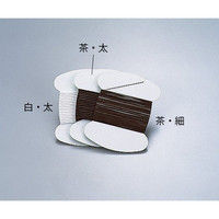 アズワン フッ素樹脂たこ糸 2m巻太 茶 1巻 7-260-02 (直送品)