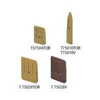 アズワン マルチ真空ピンセット用 チップ 4〜6インチ T75028VES 1個 7-594-23 (直送品)