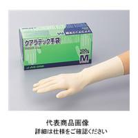 アズワン クアラテック手袋 DXパウダーフリーS 100枚/1箱 8-4053-03