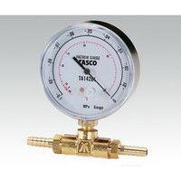 イチネンTASCO 圧力ゲージ 106BF 1個 8-516-02 (直送品)