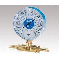 イチネンTASCO 圧力ゲージ 106F 1個 8-516-03 (直送品)