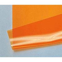 アキレス(ACHILLES) 帯電防止・紫外線遮蔽フィルム オレンジ 1枚 9-5005-02 (直送品)