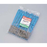 アズワン ラボランナイロンホルダーブラシ 青 ナイロン A-N 11本 1袋(11本) 9-830-06 (直送品)