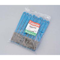 アズワン ラボランナイロンホルダーブラシ 青 豚毛 A-P 11本 1袋(11本) 9-830-08 (直送品)