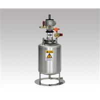 アズワン エアー攪拌機付きステンレス加圧タンク 1ー1915ー01 1個 1ー1915ー01 (直送品)