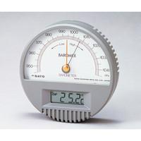 佐藤計量器製作所 バロメックス気圧計7612 1台 6-6155-01 (直送品)