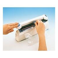 富士インパルス ポリシーラー(卓上型) 2×200mm(カッターノブ付き) PC-200 1台 6-645-11 (直送品)