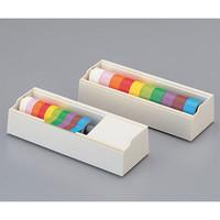 アズワン 補充用テープ 15mm×5m 紫 1巻 6-692-09 (直送品)