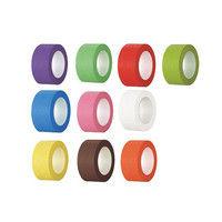 アズワン 補充用テープ 25mm×5m 10色セット 1巻 6-693-11 (直送品)