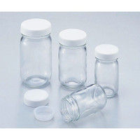 アズワン UMサンプル瓶(マヨネーズ瓶) 100mL 1セット(30本) 5-128-02 (直送品)
