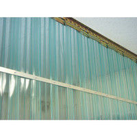 アズワン 食品工場用ビニールカーテンシート 巾200mm×長さ30m ブルー 1巻 2-7751-01 (直送品)