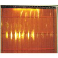 アズワン 食品工場用ビニールカーテンシート 巾200mm×長さ30m オレンジ 1巻 2-7751-03 (直送品)