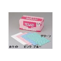 アズワン カウンタークロス ホワイト 1箱(60枚入) 6-8559-01 (直送品)