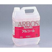 アズワン アルボースアルコール消毒液アルサワー(詰め替え用) (4L コック付き) 1個 6-8595-01 (直送品)