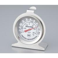 アズワン 冷凍・冷蔵庫用バイメタル温度計 1台 2-3553-01 (直送品)