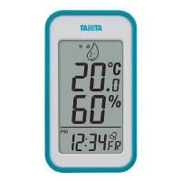 タニタ デジタル温湿度計 青 TT559BL 1セット(3個)