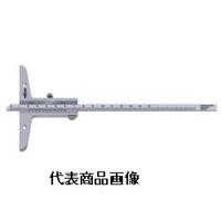 tesa tape スタンダード・ゲージ バーニアデプスノギス 150mm 0.02mm 1個 (直送品)