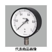 長野計器 普通形圧力計(屋内・耐食用)φ75 立形 AC10-133-0.25MP 1個 (直送品)