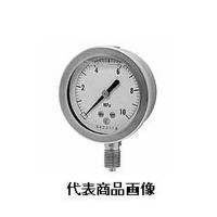 長野計器 グリセリン入真空計 φ60 立形 1個 (直送品)