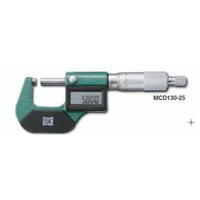 新潟精機 デジタル外側マイクロメータ MCD130-25 1個 (直送品)