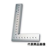 新潟精機 目盛付平形スコヤ 150ミリ E-150 1個 (直送品)