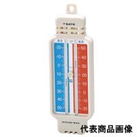 佐藤計量器製作所 ミニマックス・ワイド(レッド)-40〜50℃ 1個 (直送品)