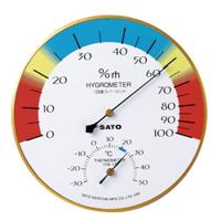 佐藤計量器製作所 メロディー温湿度計 1個 (直送品)