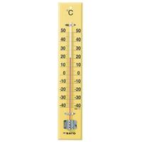 佐藤計量器製作所 大型木製寒暖計 SK式45型 1本 (直送品)