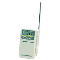 佐藤計量器製作所 デジタル温度計 PC-9400 -10〜110℃ 1個 (直送品)