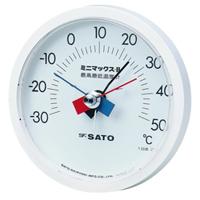 佐藤計量器製作所 ミニマックスII型最高最低温度計 1台 (直送品)