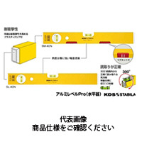 ムラテックKDS アルミレベルPro SM-120N マグネットツキ 1個 (直送品)