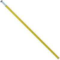 シンワ測定 アルミスタッフ ミニ棒 2m2段 1個 (直送品)