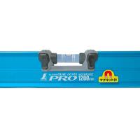 シンワ測定 ブルーレベル Pro 1200mm マグネット付 1個 (直送品)