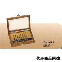 ミツトヨ 鋼製・極薄ゲージブロックセット BM1-9LT-1 1セット (直送品)