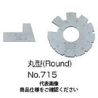 フジツール アクメゲージ 丸型 No.715 1個 (直送品)