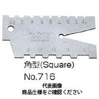フジツール アクメゲージ 角型 No.716 1個 (直送品)